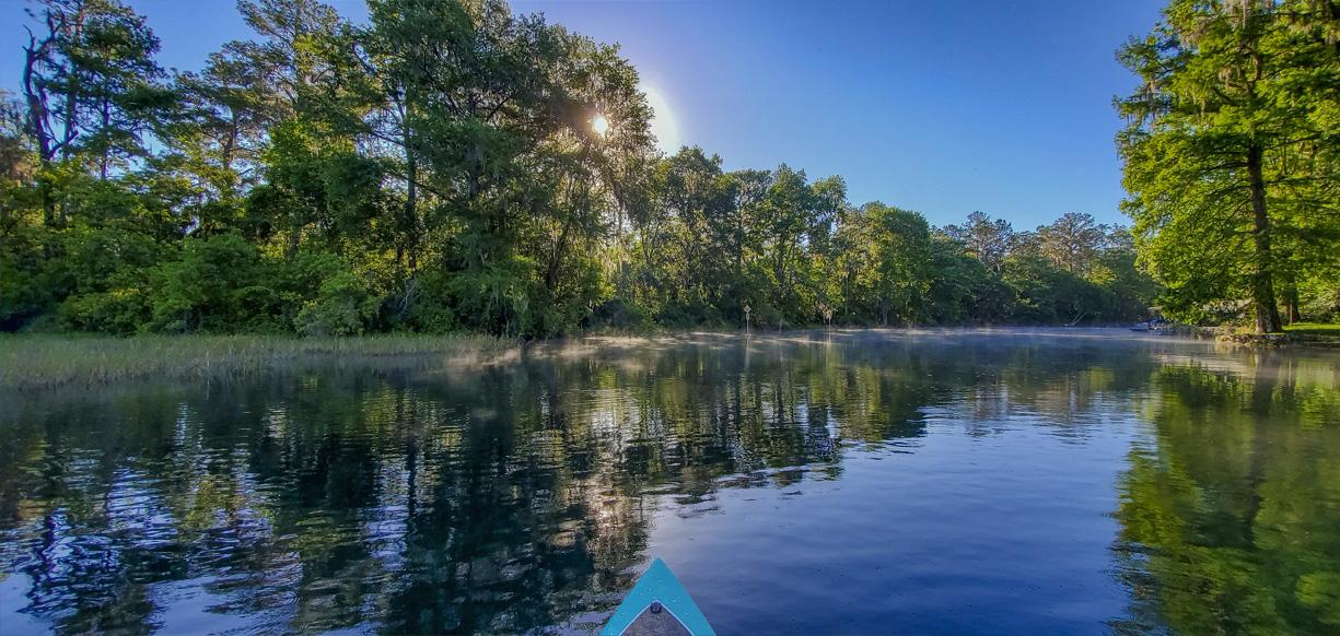 Kayaking in Crystal River