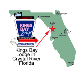 Crystal River Florida Map.Crystal River Motel Florida Waterfront Efficiency Suites